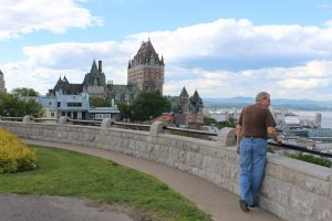Chateau Frontenac From The Plains Of Abraham